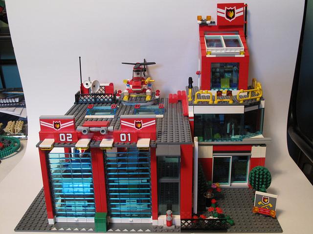 LEGO készlet fiúknak és lányoknak