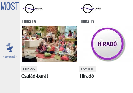 A Duna TV műsor kínálata elnyeri a tetszését