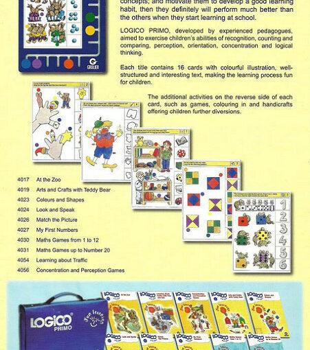 Logico Primo társasjáték