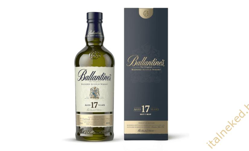 Messze földön híres a Ballantines whisky